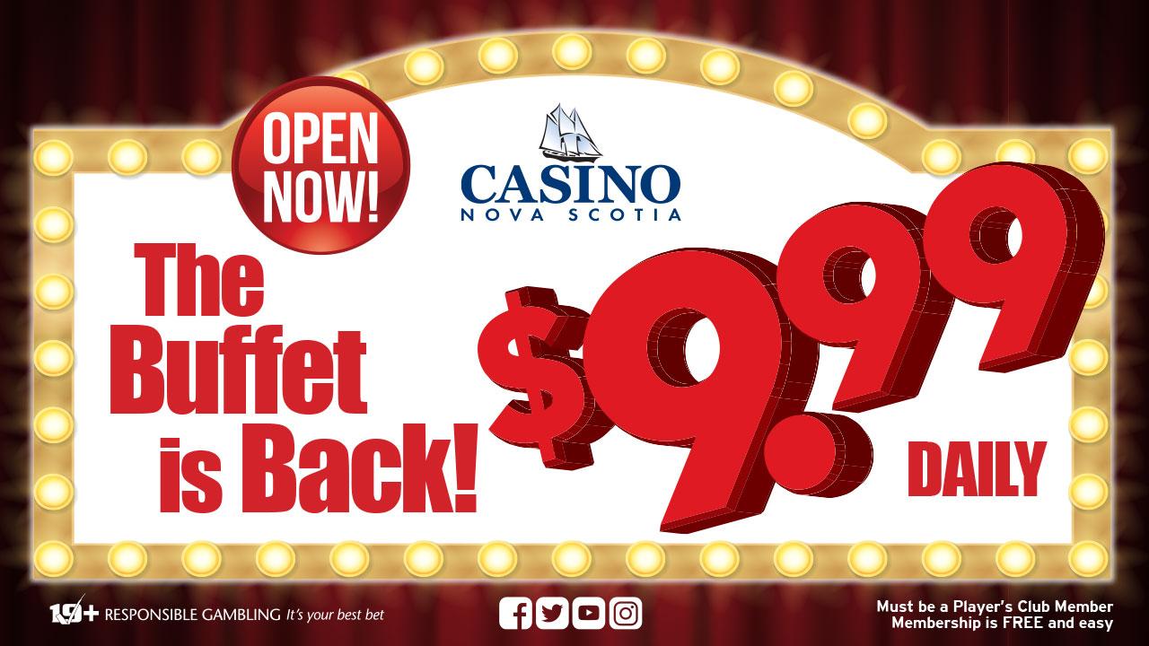Casino Nova Scotia Buffet